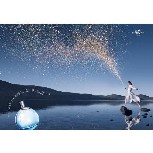 Hermes Eau des Merveilles Bleue 7.5ml eau de toilette miniatuur