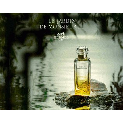 Hermes Le Jardin de Monsieur Li Set 50ml eau de toilette spray + 40ml Bodylotion + 7,5ml Miniatuur