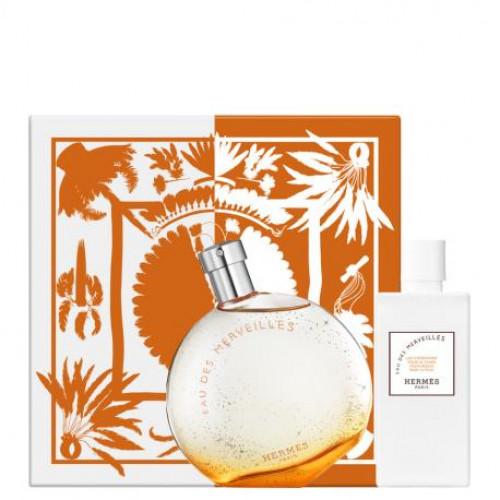 Hermès Eau des Merveilles Set 100ml eau de toilette spray + 80ml Bodylotion