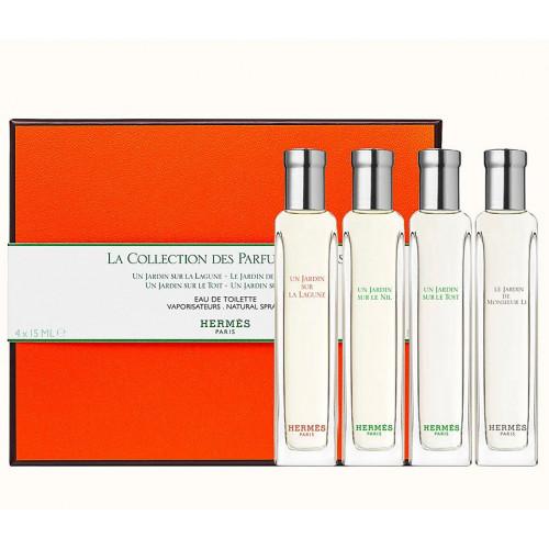 Hermes La Collection des Parfums-Jardins Set 4 x 15ml