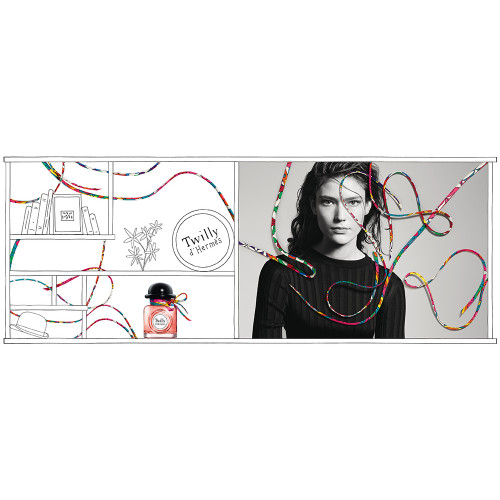 Hermes Twilly d'Hermès Set 50ml eau de parfum spray + 7,5ml edp miniatuur + 40ml Bodylotion