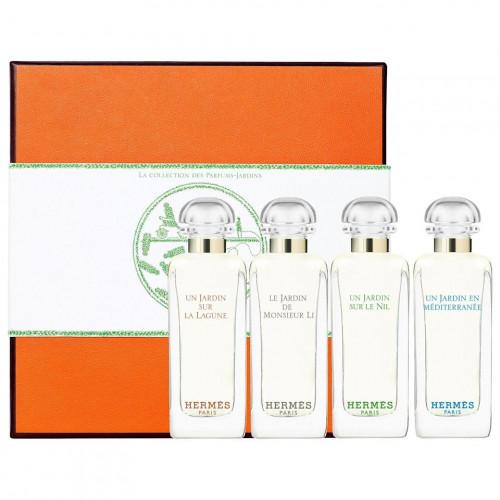 Hermes La Collection Des  Parfums Jardins Miniaturen Set 4 x 7,5ml edt