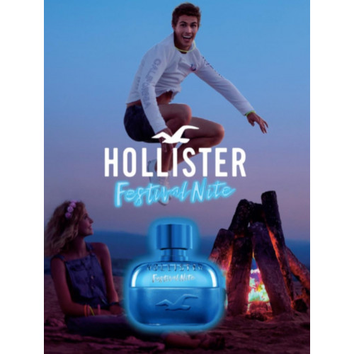 Hollister Festival Nite for Him 50ml Eau de Toilette Spray