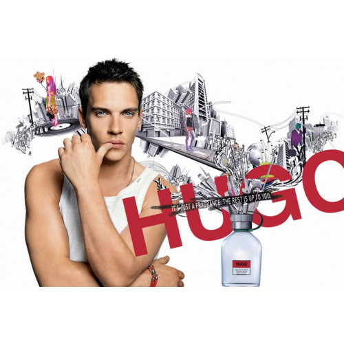 Boss Hugo Man Set 125ml eau de toilette spray + 150ml Deodorant Spray + 50ml Showergel
