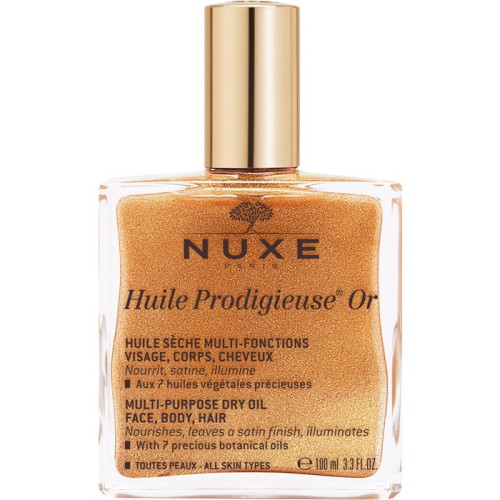 Nuxe Huile Prodigieuse Or Multi-Purpose Shimmering Dry Oil 100ml (gold glitter)