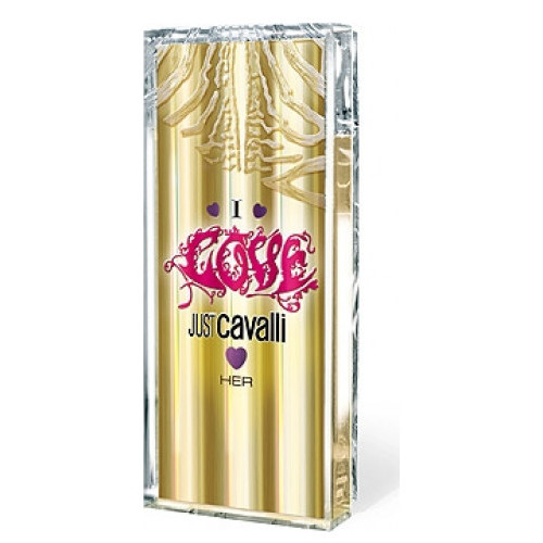 Roberto Cavalli Just Cavalli I Love Her 60ml Eau de Toilette Spray