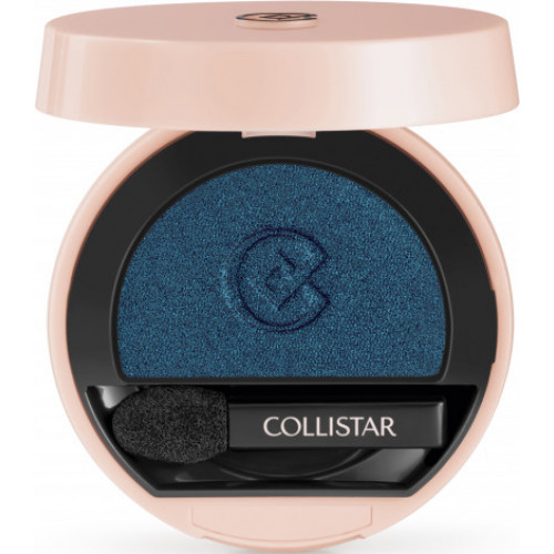 Collistar Impeccable Compact Eye Shadow Nr. 240 - Blu Mediterraneo Satin Oogschaduw