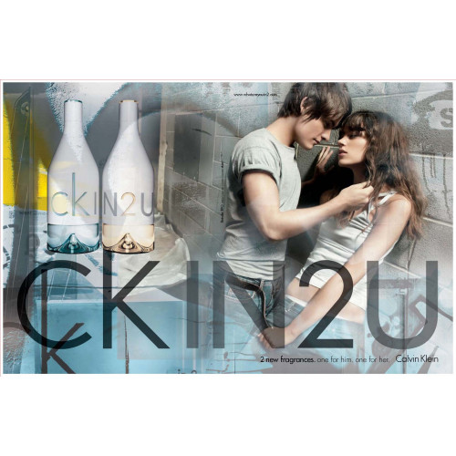 Calvin Klein CK In2U Her 100ml edt eau de toilette spray