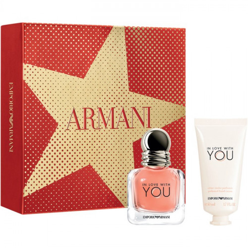 Giorgio Armani In Love With You set 30ml eau de parfum spray + 50 ml Handcreme