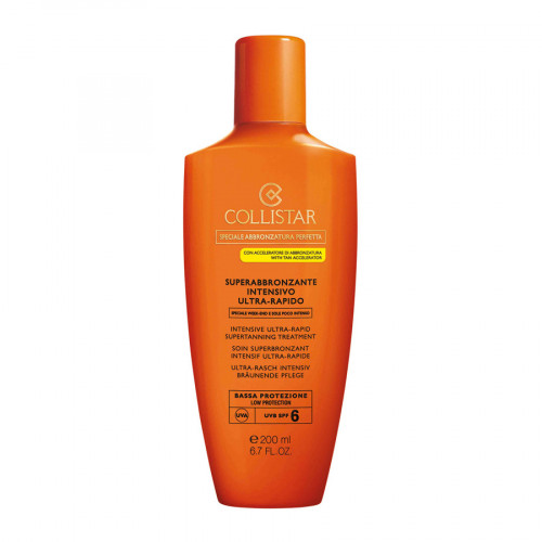 Collistar Intensive Ultra-Rapid Supertanning Treatment SPF6 200ml