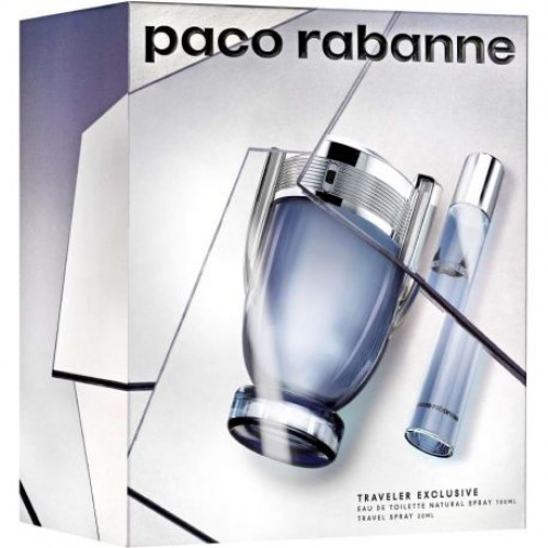 Paco Rabanne Invictus Set 100ml eau de toilette spray  + 20ml edt