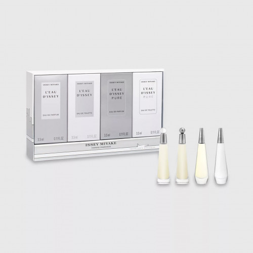 Issey Miyake L'eau D'issey Femme Miniaturen set 2x 3,5ml edt + 2x 3,5ml edp