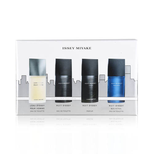 Issey Miyake L'eau D'Issey Pour Homme Miniaturen Set 4x7ml edt + edp (met blue astral)