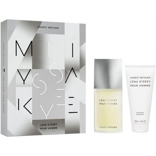 Issey Miyake L'eau D'Issey Pour Homme Set 75ml eau de toilette spray + 100ml Showergel