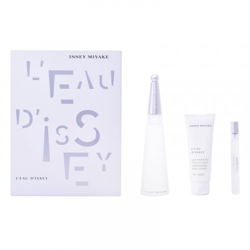 Issey Miyake L'eau D'Issey Woman Set 100ml eau de toilette  spray + 75ml Bodylotion + 10ml edt