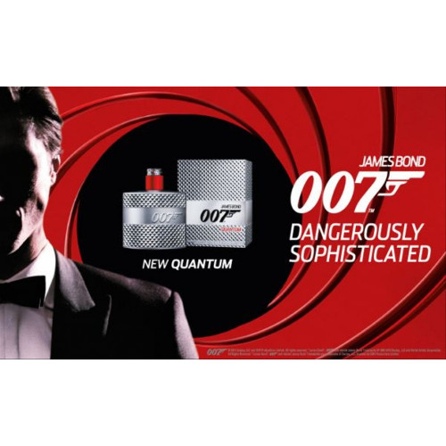 James Bond 007 Quantum 50ml eau de toilette spray