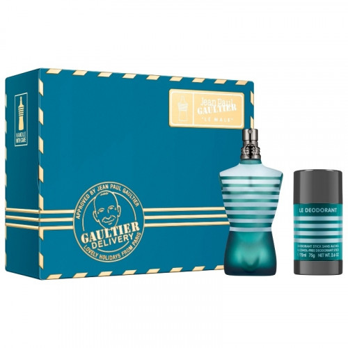 Jean Paul Gaultier Le Male Set 75ml eau de toilette spray + 75ml Deodorant Stick