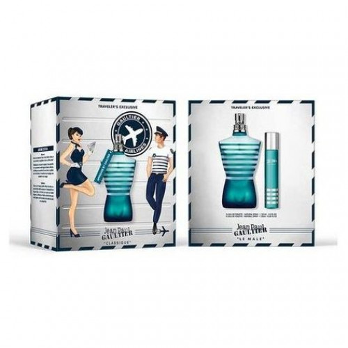 Jean Paul Gaultier Le Male 125ml eau de toilette spray + 20ml spray Travel-set