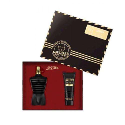 Jean Paul Gaultier Le Male Le parfum Intense Set 125ml eau de parfum spray + 75ml Showergel