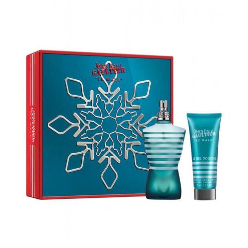 Jean Paul Gaultier Le Male X-Mas Set 125ml eau de toilette spray + 75ml showergel