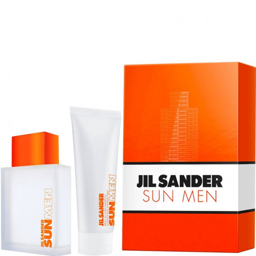 Jil Sander Sun For Men Set 75ml eau de toilette spray + 75ml Showergel