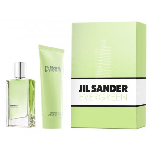 Jil Sander Evergreen Set 30ml eau de toilette spray + 75ml Bodylotion
