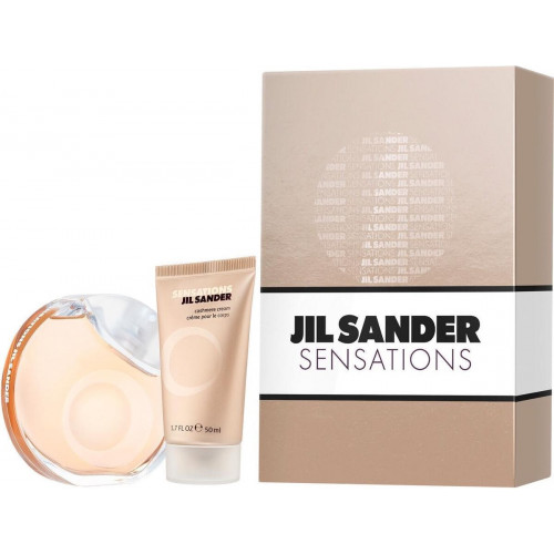 Jil Sander Sensations set 40ml eau de toilette spray + 50ml Bodylotion