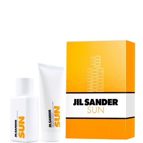 Jil Sander Sun Woman Set 75ml eau de toilette spray + gratis 75ml Showergel