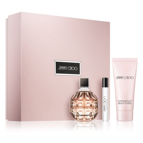 Jimmy Choo Jimmy Choo Set 100ml eau de parfum spray + 100ml Bodylotion +7,5ml edp