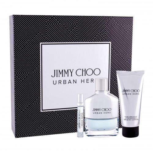Jimmy Choo Urban Hero  Set 100ml eau de parfum spray + 100ml Aftershave Balm + 7,5ml edp