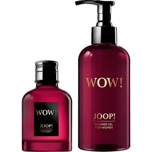 Joop Wow! For Women Set 60ml eau de toilette spray + 250ml Showergel