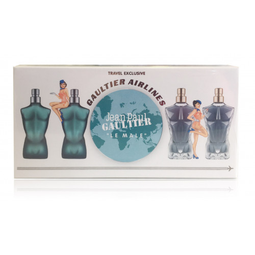 Jean Paul Gaultier Heren  Miniaturen Set 4-delig Le Male