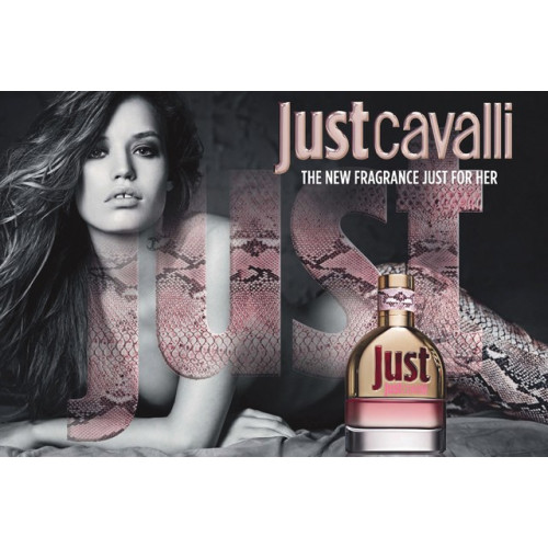 Roberto Cavalli Just Cavalli for Her 75ml Eau de Toilette Spray