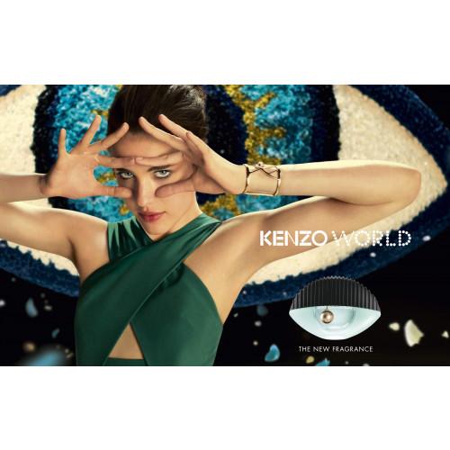 Kenzo World set 75ml eau de parfum spray + 75 ml bodylotion + toilettas
