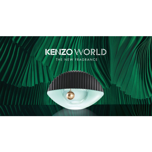 Kenzo World set 75ml eau de parfum spray + 75 ml bodylotion + 10ml tasspray