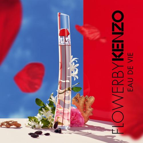 Kenzo Flower Eau de Vie Set 50ml eau de parfum spray + 15ml edp Miniatuur