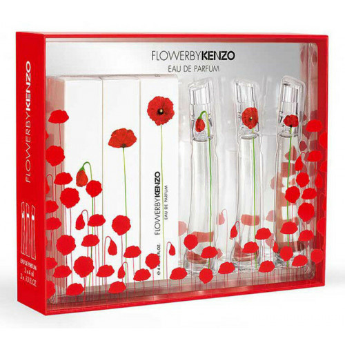 Kenzo Flower Miniaturen Set 3 x 4ml eau de parfum
