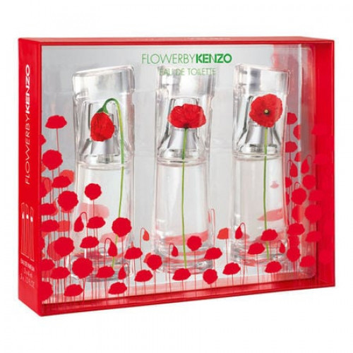Kenzo Flower Miniaturen Set 3 x 15ml eau de toilette