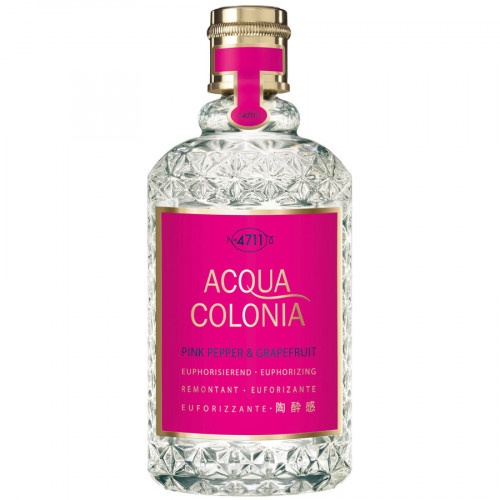 4711 Acqua Colonia Pink Pepper & Grapefruit 170ml Eau de Cologne Splash & Spray