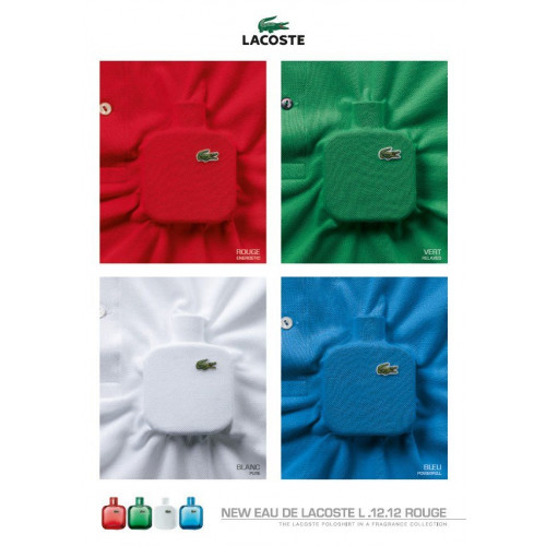Lacoste Eau de Lacoste L.12.12 Rouge 100ml eau de toilette spray