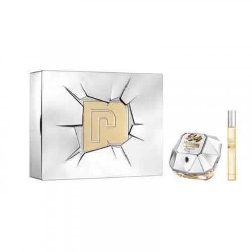 Paco Rabanne Lady Million Lucky Set  80ml eau de parfum spray + 10ml edp spray