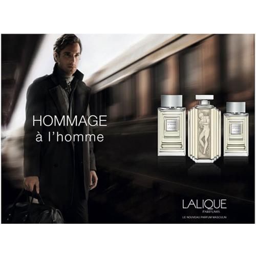 Lalique Hommage a L'Homme 50ml eau de toilette spray