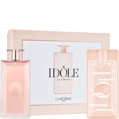 Lancôme Idôle set 50ml eau de parfum spray + Case