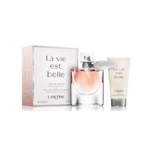 Lancôme La Vie est Belle Set 50ml Eau de Parfum Spray + 50ml Bodylotion