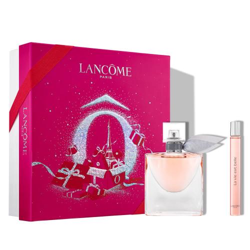 Lancôme La Vie est Belle Set 50ml Eau de Parfum Spray + 10ml  eau de parfum tasspray
