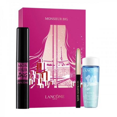 Lancôme Monsieur Big Mascara Set Monsieur Big 10ml + Mini BiFacil 30ml + Mini Crayon Khôl Nr. 01 Noir 0,7g