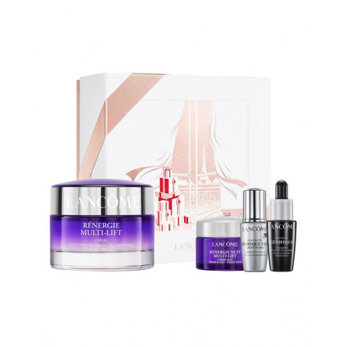 Lancôme Rénergie Multi-Lift Set Redefining Lifting Cream  SPF15 50ml gezichtscreme + Renergie Nuit Multi-Lift 15ml + Advanced Genifique 7ml + Advanced Genifique Yeux Light- Pearl 5ml