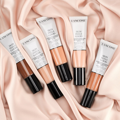 Lancôme Skin Feels Good Getinte Dagcrème 12W Sunny Amber spf 23 30ml