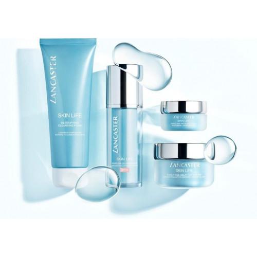 Lancaster Skin Life Set Early-Age-Delay Gel Day Cream 50ml + Shield & Primer spf 30 10 ml + Eye Cream 3ml + Express Cleaner 100ml
