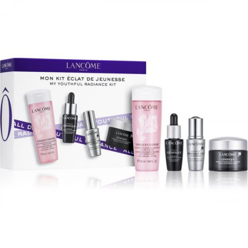 Lancome Advanced Génifique Starter Kit set Génifique Youth Activating Concentrate Serum 7ml + Génifique Yeux Light-Pearl 5ml + Génifique Youth Activating Cream 15ml + Tonique Confort 50ml